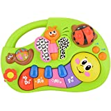 Toyhouse TH927 Finger Illuminating And Learning Piano Toy, Multi Color