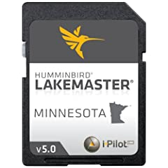 Humminbird LakeMaster 2014 Minnesota Digital GPS Map Card by LAKEMASTER