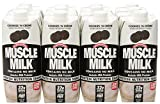 CytoSport Muscle Milk Ready-to-Drink Shake, Cookies and Creme, 12 - 17 Ounce Containers