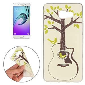 Crazy4Gadget For Samsung Galaxy A3 (2016) / A310 Tree and Bird Pattern TPU Protective Case