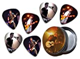 Theory of a Deadman (WK) 6 X Live Performance Guitar Picks in Tin