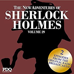The New Adventures of Sherlock Holmes: The Golden Age of Old Time Radio Shows, Vol. 29 Radio/TV Program