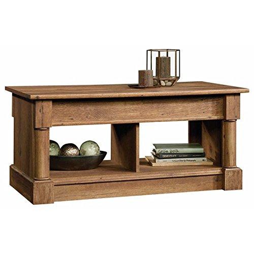 Sauder Palladia Lift Top Coffee Table in Vintage Oak 1