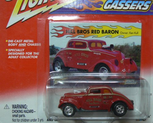Johnny Lightning Willys Gassers Hill Bros Red Baron; Ken Kull