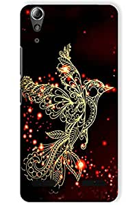 IndiaRangDe Case For Lenovo A6000 Plus (Printed Back Cover)