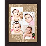 Avercart Custom Collage Photo Frame With Print Personalized Photo Frame (4 Photos Required) Your Exclusive Collage 12x16 Inch