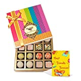 Rich Delightful Treat To Your Friend With Friendship Card - Chocholik Belgium Chocolates