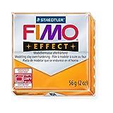 1 x STAEDTLER Transparent Orange (404) FIMO Effect Polymer Modelling Moulding Clay Block Colour 56g