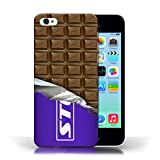 IChoose® Designer Chocolate Bar Cases for Apple iPhone 5C / Protective Hard Back Case Cover / Mars, Galaxy, Flake & Others Collection / Wrapped Block/Slab