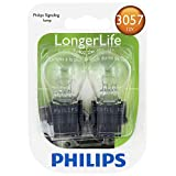 Philips 3057 LongerLife Miniature Bulb, 2 Pack