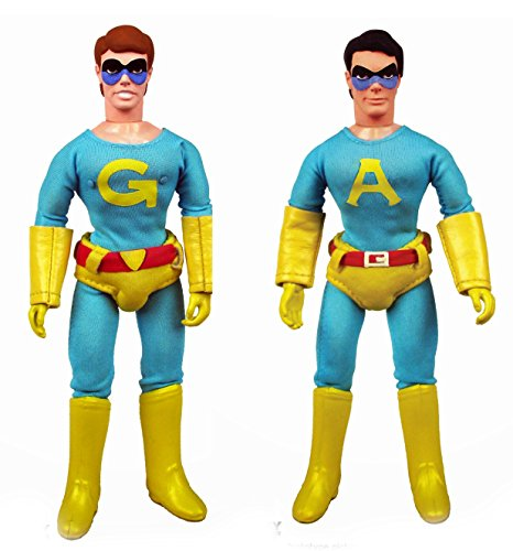Saturday Night Live the Ambiguously Gay Duo Ace and Gary 8-inch Action Figures Set of 1 Each (Ace Duos compare prices)