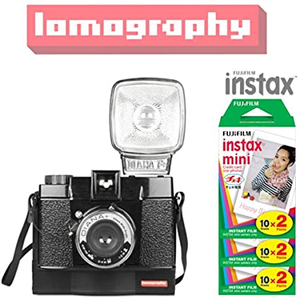 Lomography Diana F Instant Instax Mini Camera (With Fujifilm Instant Film (60 Shots))