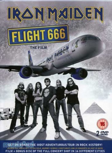 Iron Maiden - Flight 666. The Film (2 DVD)