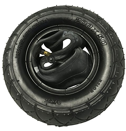 "Best Price 200 x 50 (8""x2"") Scooter Tire & Inner Tube Set - Razor and Other Small Scoo..."