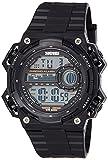 Skmei Digital Black Dial Unisex Watch - 1115BB