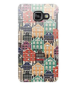 PrintVisa Building Pattern 3D Hard Polycarbonate Designer Back Case Cover for Samsung Galaxy A5 A510 2016 Edition