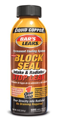 Bar's Leaks 1109 Block Seal Liquid Copper Intake and Radiator Stop Leak - 18 oz. (Copper Freeze Plug compare prices)