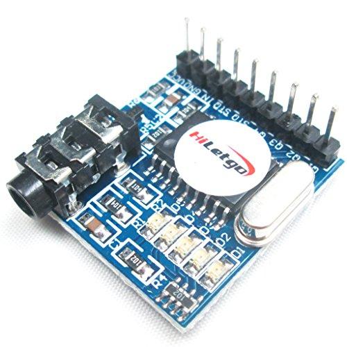 HiLetgo MT8870 DTMF Voice Decoder Module Telephone Module for Arduino (Dtmf Module compare prices)