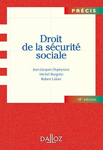 Droit de la sécurité sociale - 18e éd.
