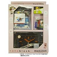 nanoblock (ナノブロック) アラーム付クロック 人形1体・ミニコレクション1個付 デコレーションブロック付 ギフトセット 96902BK-Gセット