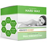 Hard Wax Kit: Face, Underarms & Bikini Hair Remover