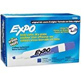 Expo Original Dry Erase Markers, Chisel Tip, 12-Pack, Purple