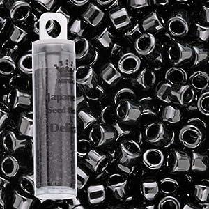 Miyuki Delica Bead 11/0 7.2 Gram Black DB010
