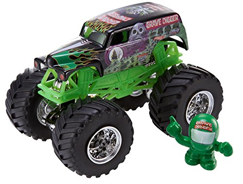 Hot Wheels Monster Jam Grave Digger Cbf32
