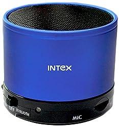 Intex IT-11SBT Bluetooth Speakers (Blue/Black)