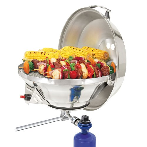 Magma Marine Kettle 2 Stove and Gas Grill Combo - Party Size 17""