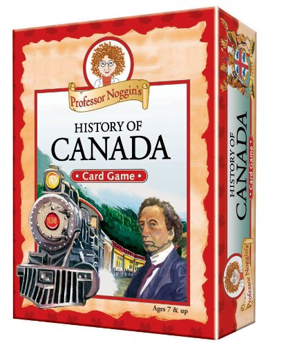 Educational Trivia Card Game - Professor Noggin's History of Canada