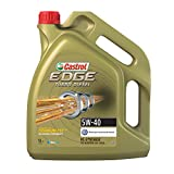 Castrol 55275 Edge Turbo Diesel SAE 5W-40 Synthetic Motor Oil, 5 L