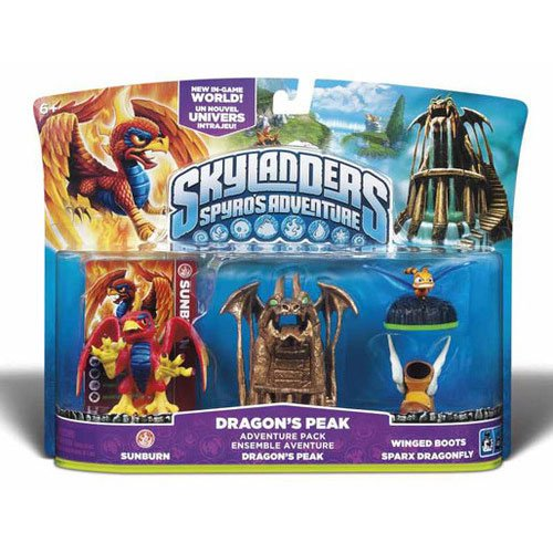 Skylanders Spyro's Adventure Pack: Dragon's Peak - 1
