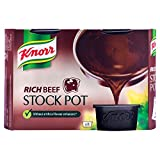 Knorr Rich Beef Stock Pot (8x28g) クノール豊富なビーフストックポット( 8X28G )