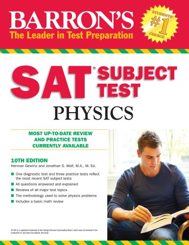 Jonathan S. Wolf  Herman Gewirtz - SAT Subject Test In Physics