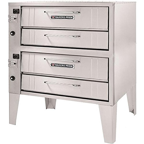 Bakers Pride SuperDeck Stubby-Shallow Depth Gas Deck Oven, 48 x 33 x 64 inch -- 1 each.