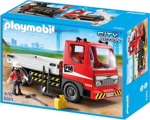 Playmobil baustellen lkw 5283 preisvergleich - Playmobil camion chantier ...