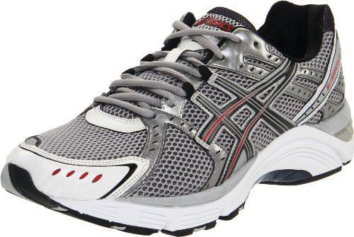 ASICS Men's GEL-Foundation 10 Running Shoe,Lightning/Black/Flame,14 (4E) US