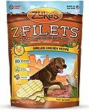 Zukes Z-Filets Healthy Grain-Free Filets for Dogs, Grilled Chicken Recipe, 7.5-Ounce