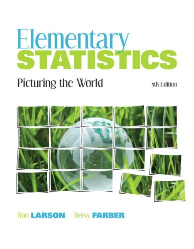 Elementary Statistics: Picturing the World Plus MyStatLab -- Access Card Package (5th Edition)