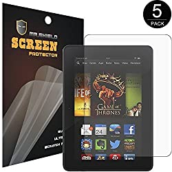 Mr Shield For NVIDIA Shield Tablet / Tablet K1 Anti-Glare Screen Protector [3-PACK] with Lifetime Replacement Warranty