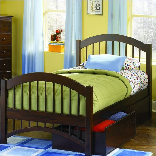 Twin Beds With Trundle 129711 front