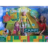"Barbie Stacie & Kelly LETS CAMP Gift Set - ""R""U Exclusive Special Edition W 3 Dolls, Tent, Camping G"
