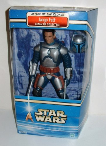 Buy Low Price Hasbro Star Wars 12″ Attack of the Clones figure JANGO FETT Character collectible (B001ELS7YA)