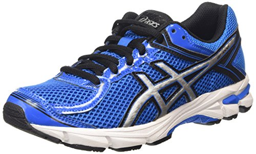 ASICS Gt-1000 4 Gs - Scarpe Running Unisex - Bambini, Blu (electric Blue/silver/black 3993), 38 EU