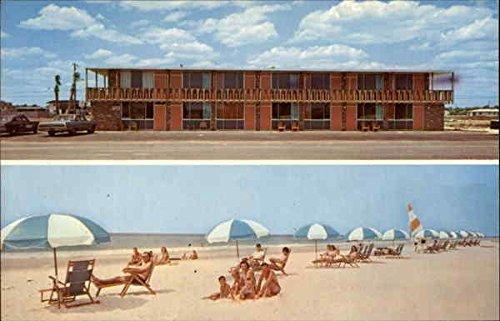sandman-hotel-apartments-fort-walton-beach-florida-original-vintage-postcard