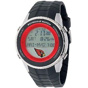 NFL Mens NFL-SW-ARI Schedule Series Arizona Cardinals Watch by Game Time
