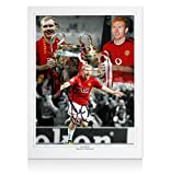 Paul Scholes Hand Signed Manchester United Photo - United Legend