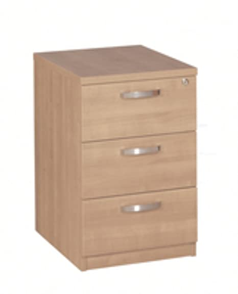 Avior 3-Drawer Mobile Pedestal Natural KF72288