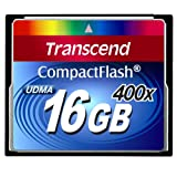 "Transcend Extreme-Speed 400x 16GB Compact Flash Speicherkartevon ""Transcend"""